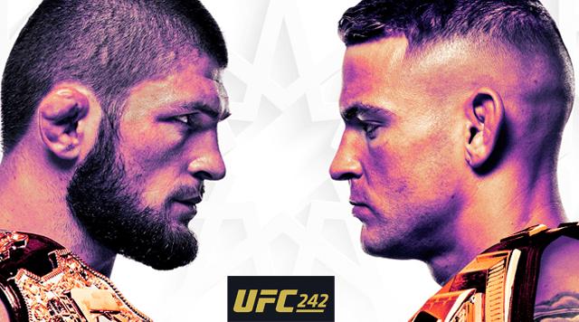 Прямая трансляция UFC 242 Khabib vs. Poirier